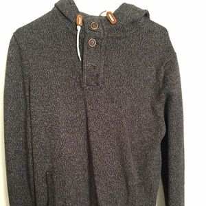 """H&M Buttom Up Hoodie """"Grey"""""""